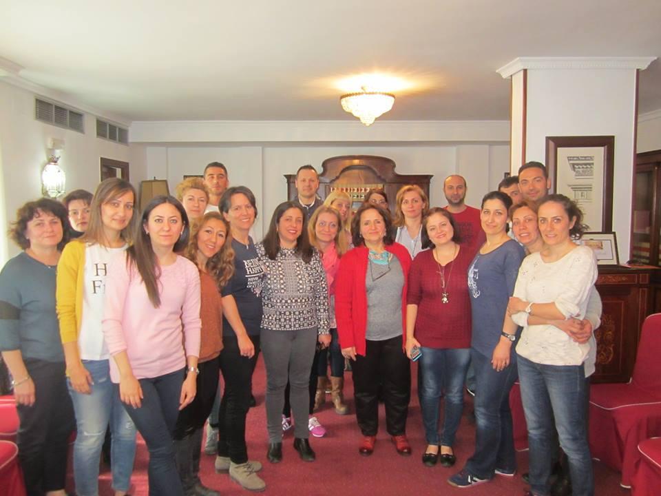 Curso EFT Tapping Madrid Proyecto Erasmus Marzo 2015