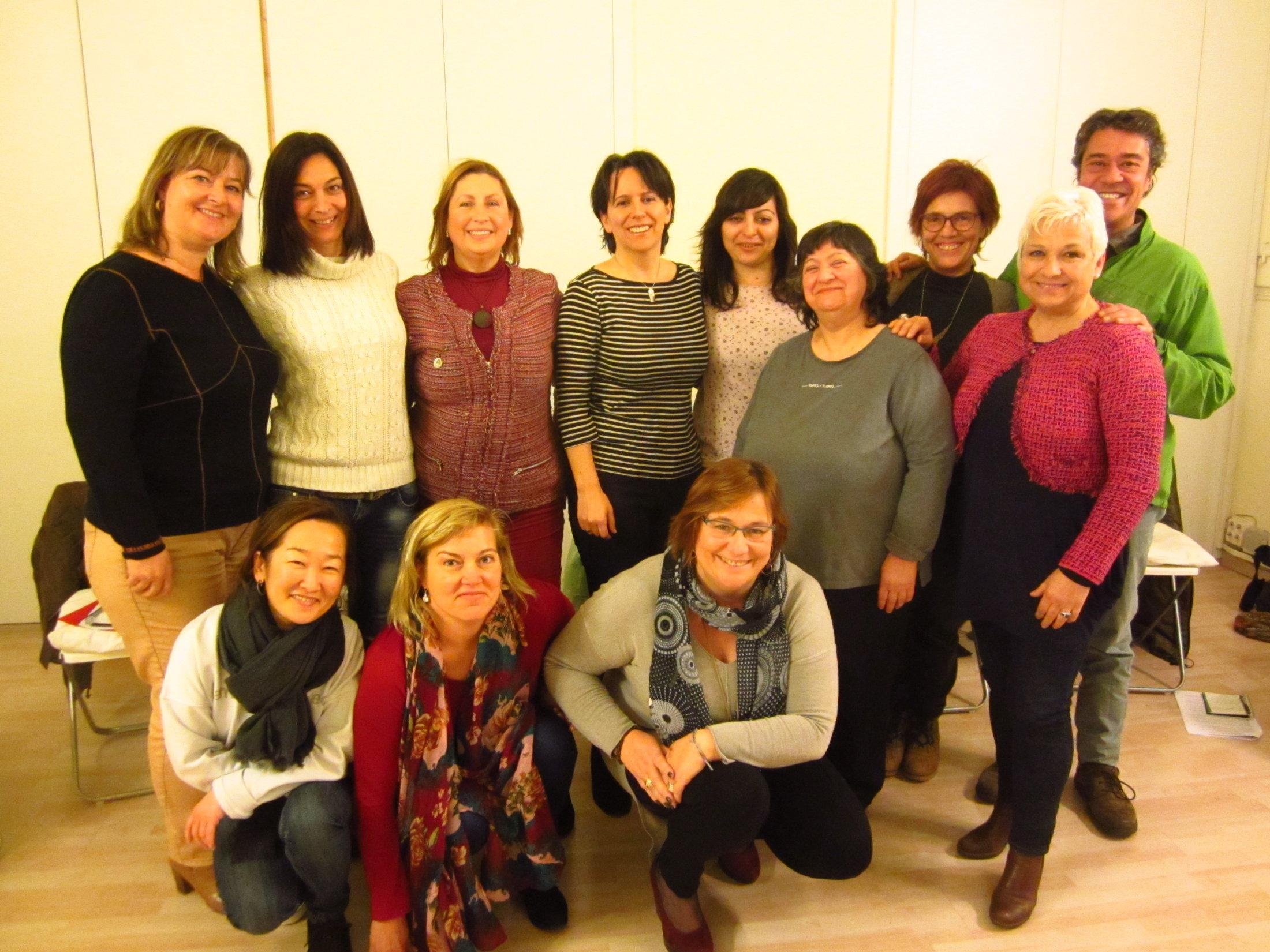 Curso Tapping Febrero 2016 Barcelona