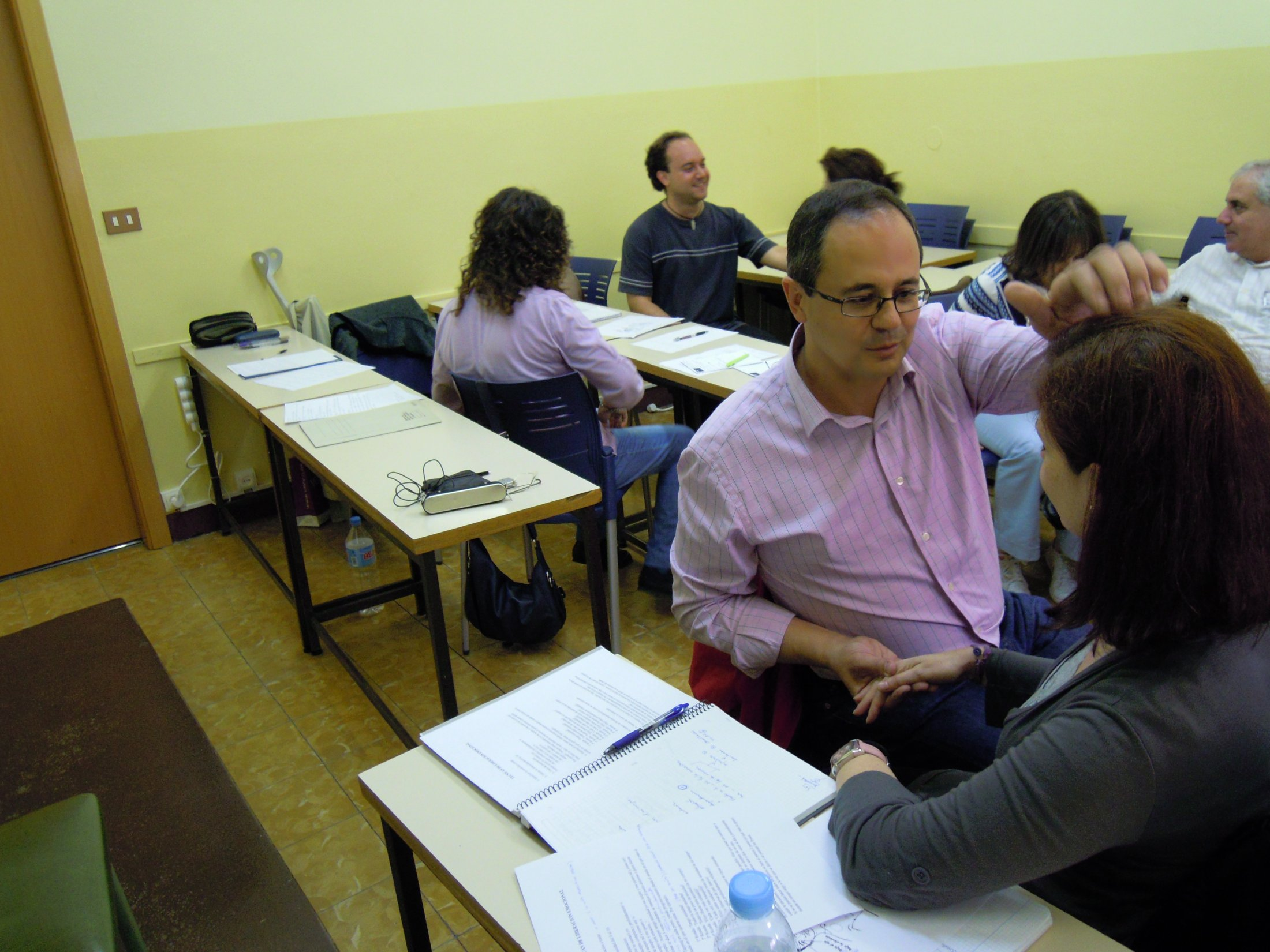 Curso EFT Madrid 2010