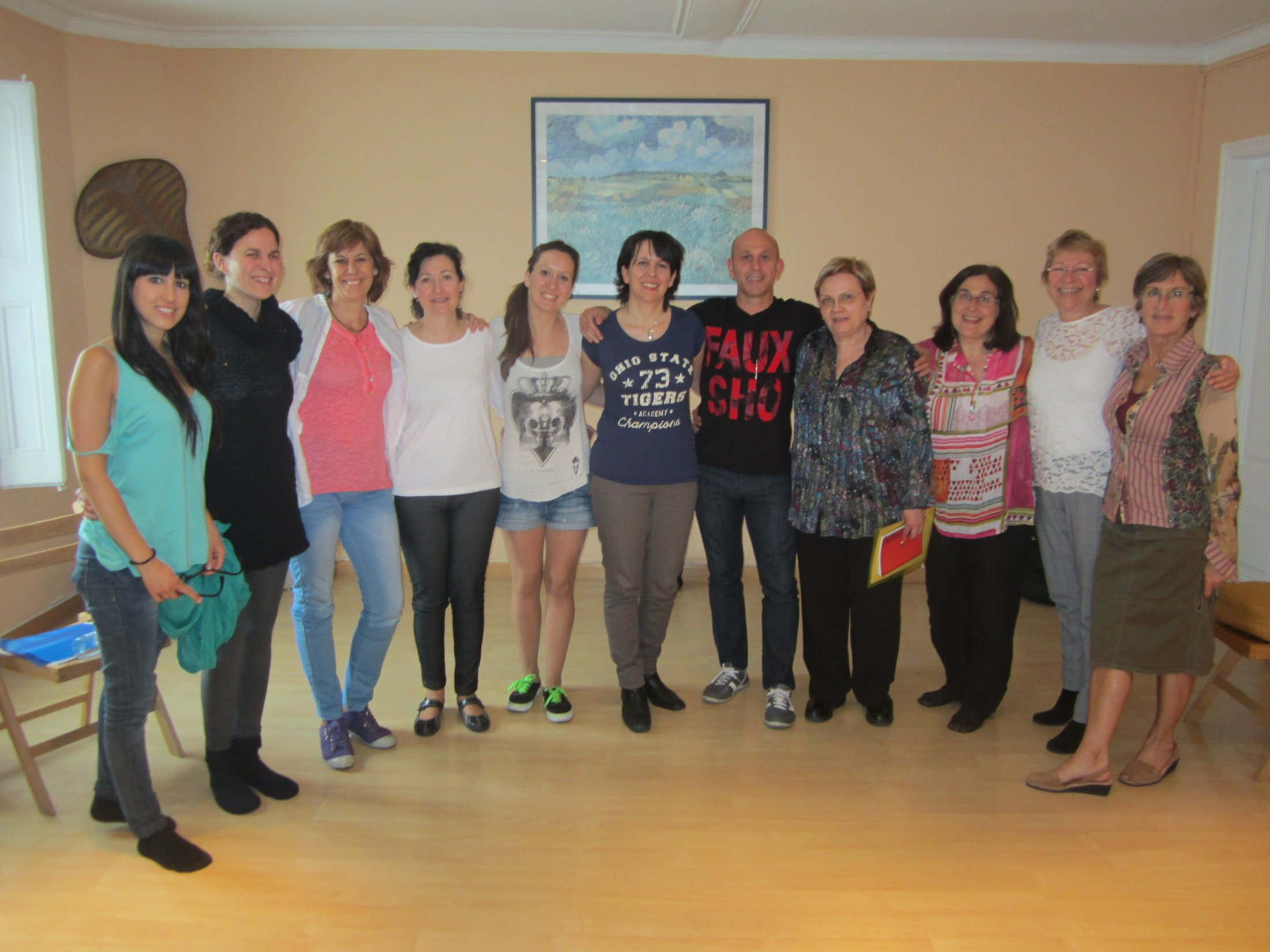 Curso EFT Madrid, abril 2013