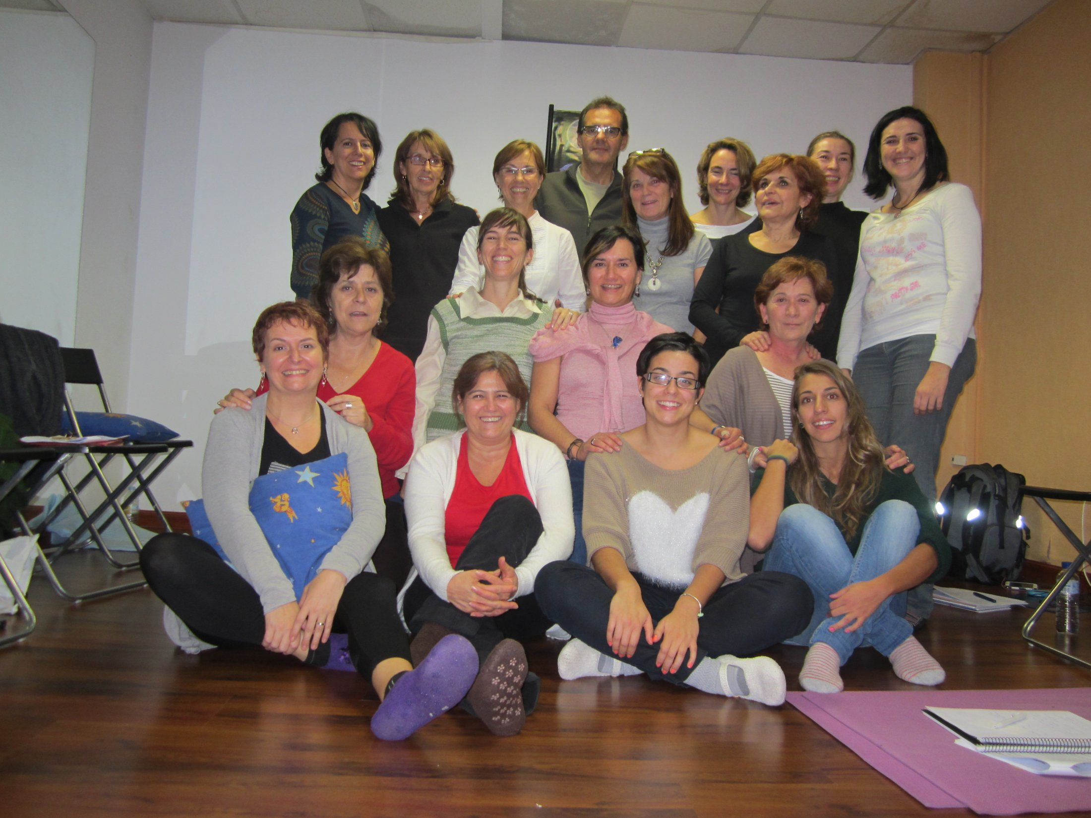 Curso EFT Tapping Madrid, noviembre 2013