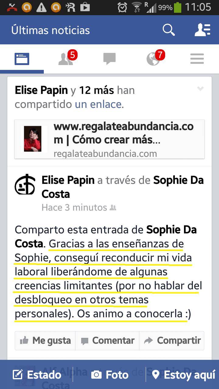 Regálate Abundancia Elise Papin
