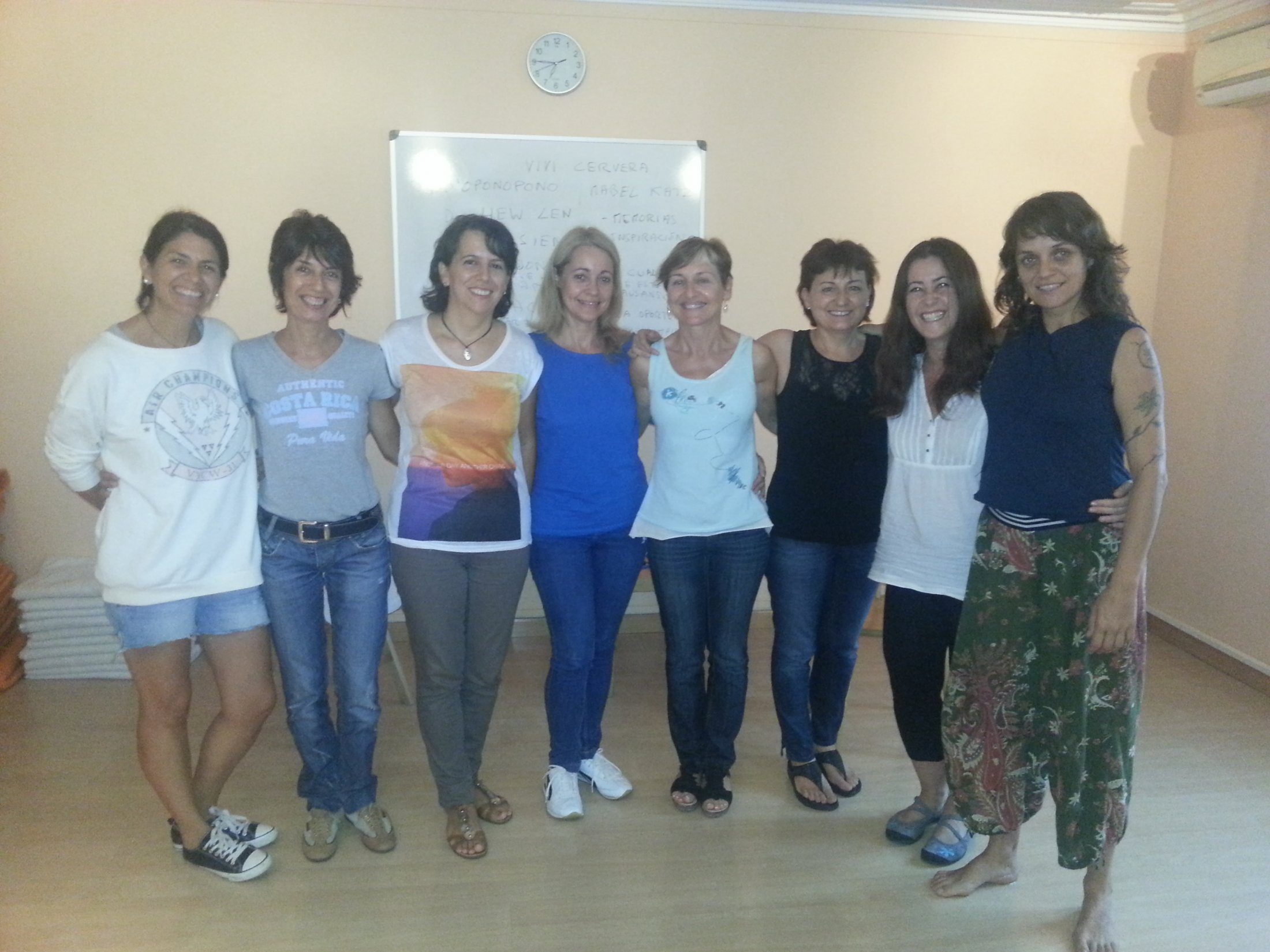 curso EFT Tapping Barcelona 15 sep 2013