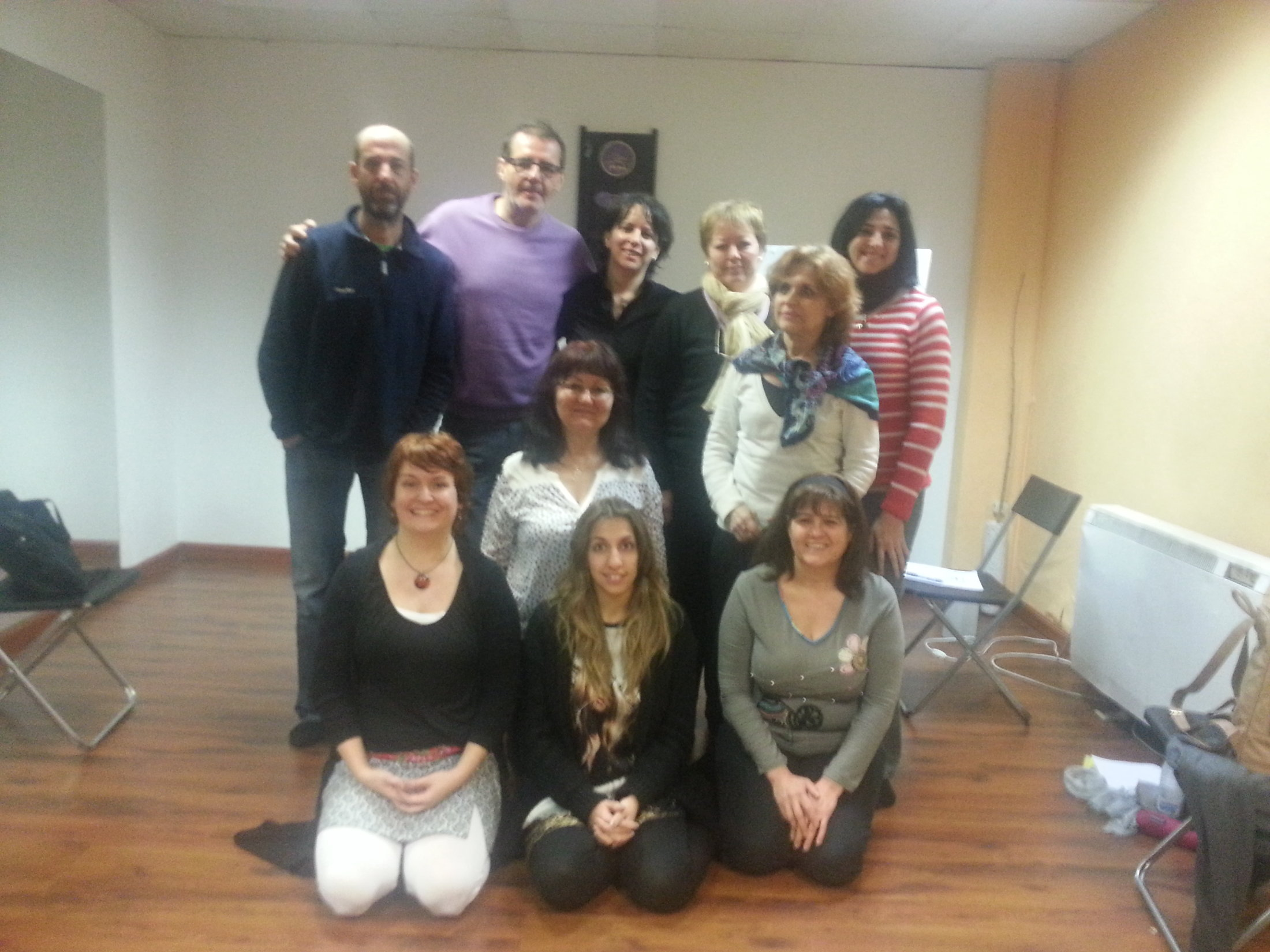 Curso EFT Tapping Madrid 9-02-14