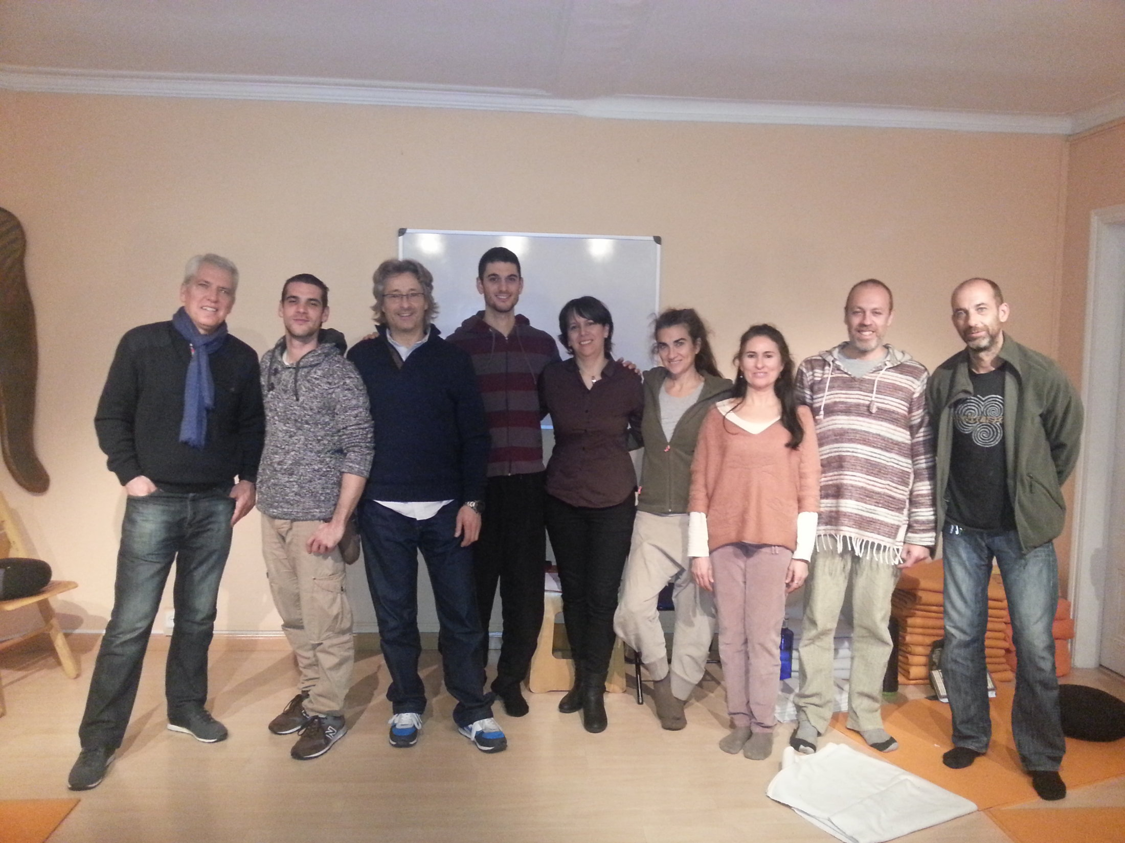 Curso EFT Tapping Barcelona 19-01-14 B