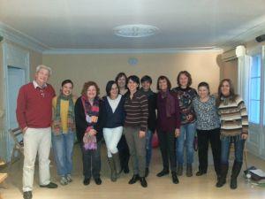 Curso EFT-Tapping Barcelona Marzo 2013
