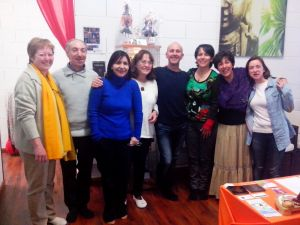 Curso EfT Tapping Madrid abril 2013