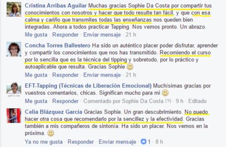 Curso De Tapping España 1