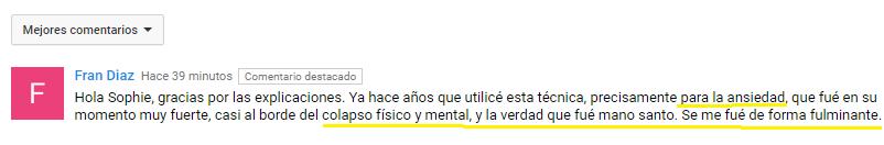 Testimonio Youtube