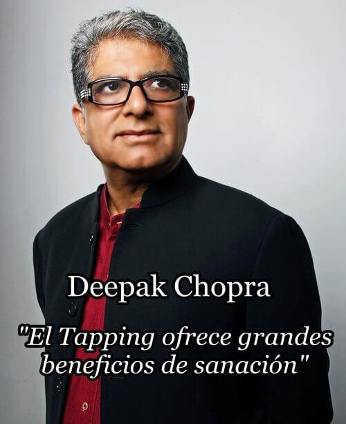 Sophie Da Costa Tapping Deepak Chopra