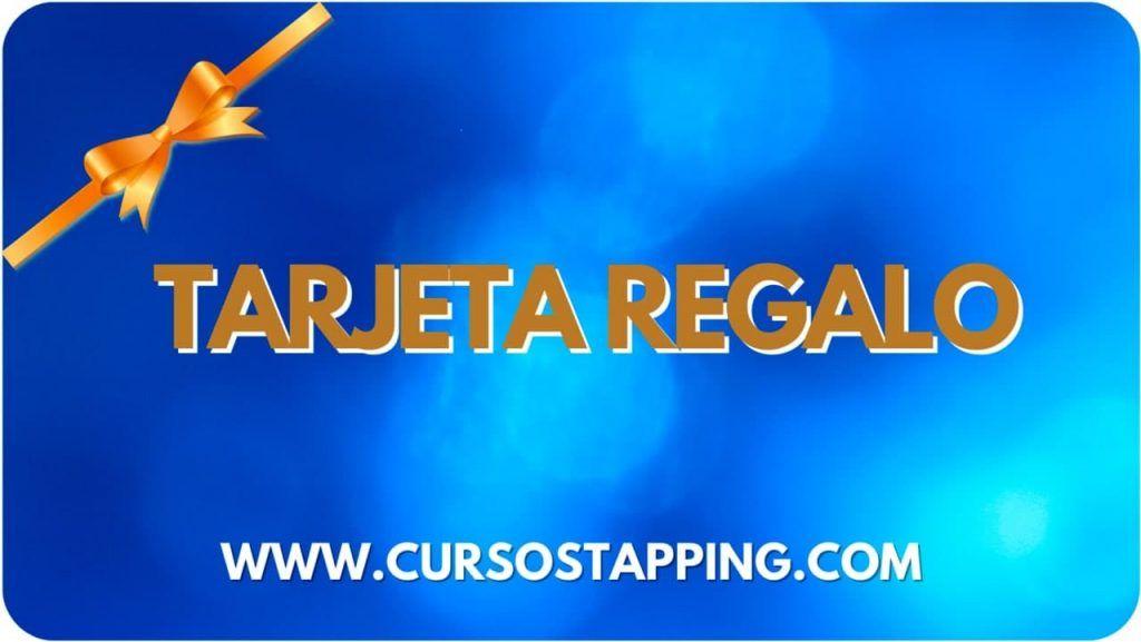 Tarjeta regalo cursos Tapping Sophie Da Costa