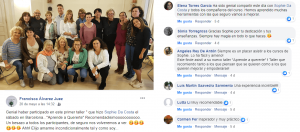 Taller Aprende a Quererte con Tapping en Barcelona mayo 2019 con testimonios